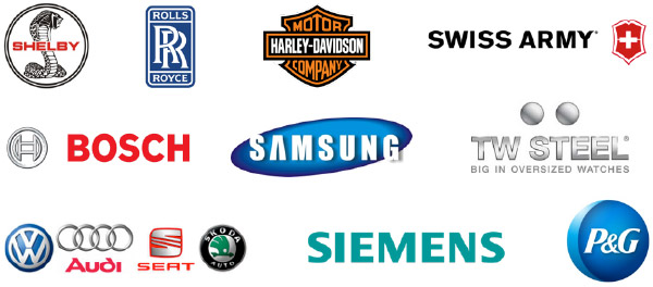 companies who use one of our Lasers in their manufacturing process