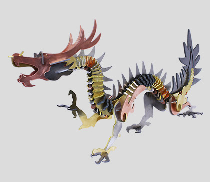Watch our Multi Metal Dragon Come Alive!