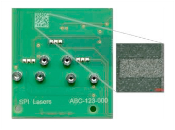 Marking FR4 PCB