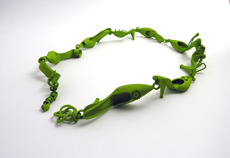 Jewellery produced using metal additive manufacturing methods