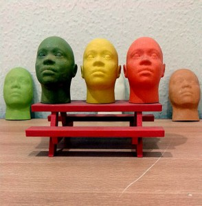 An innovative use of Additive Manufacturing technology with these face models