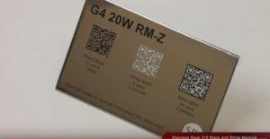 QR Code Marking Fiber Lasers