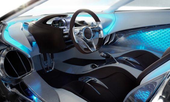 3d printed interior jaguar cx 75 concept car spi lasers. Black Bedroom Furniture Sets. Home Design Ideas
