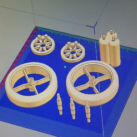 3D printed parts are amongst the main benefits of adopting an additive manufacturing approach