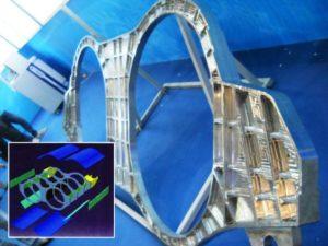 3D Titanium Aircraft Part