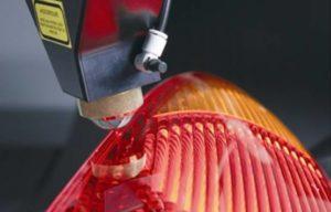 Welding of plastic with an SPI Fiber Laser