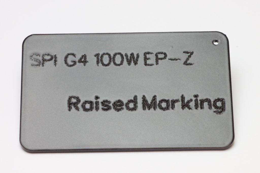 Raised Marking Spi Lasers