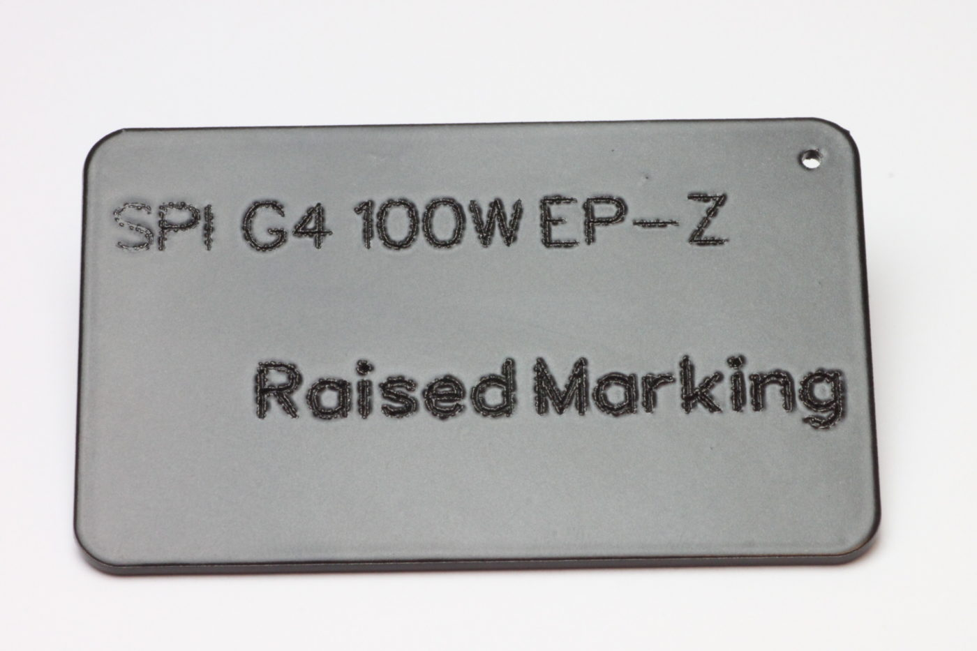 Raised Marking Laser application