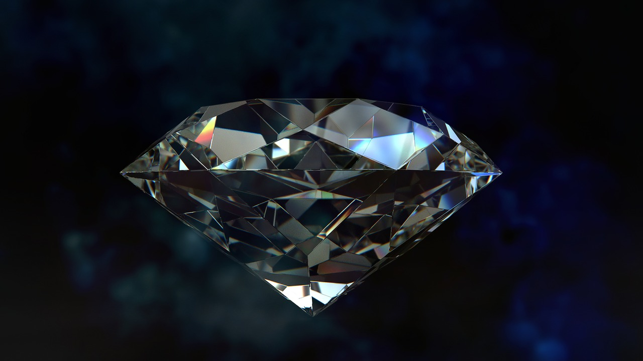 Laser drilling for diamonds