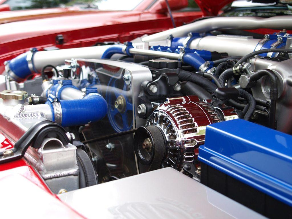Laser drilling of engine vehicles