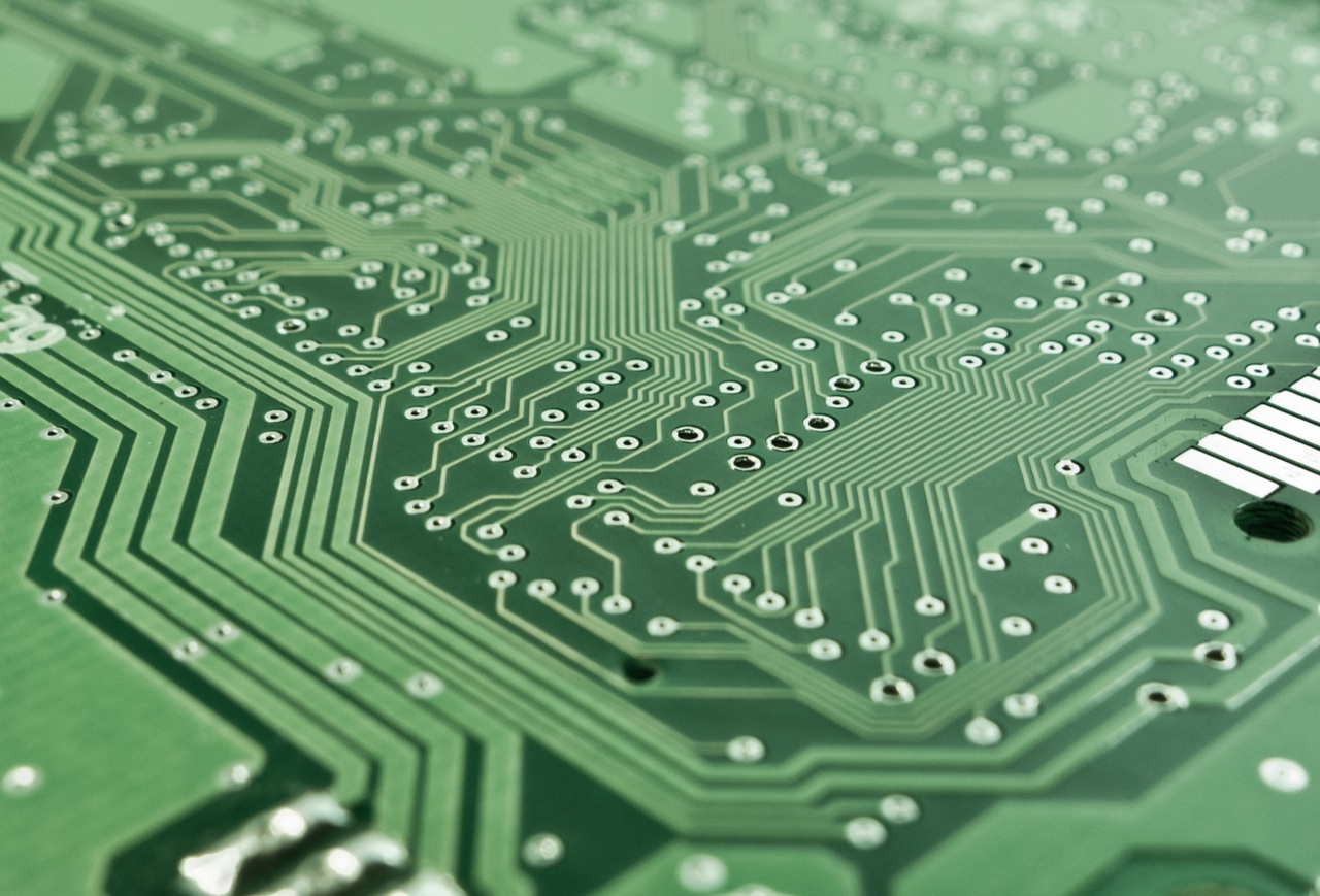 Laser drilling on printed circuit boards