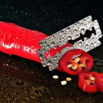 Traditional cutting methods use blades