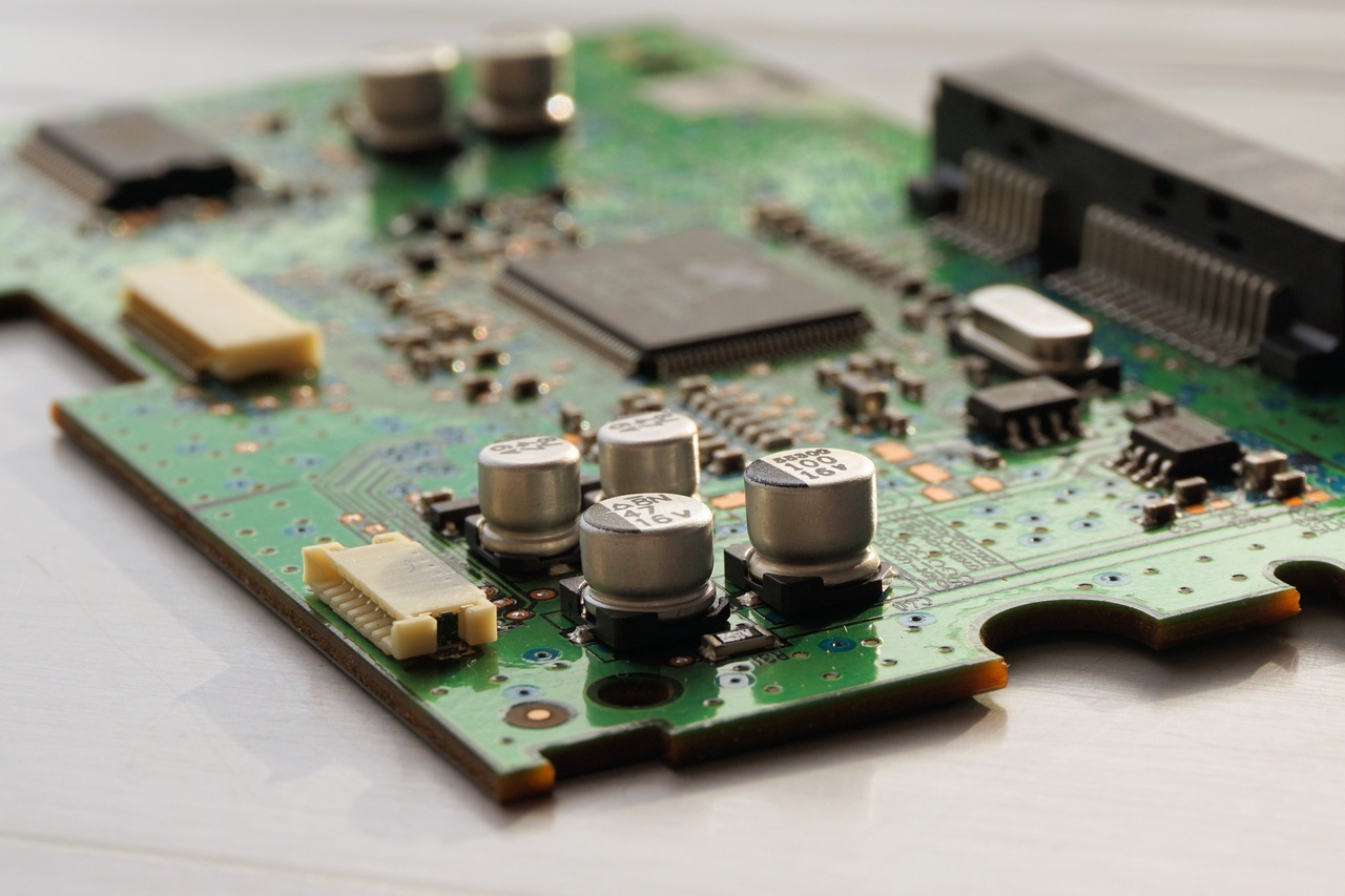 Laser cutting helps to create these complex semiconductors