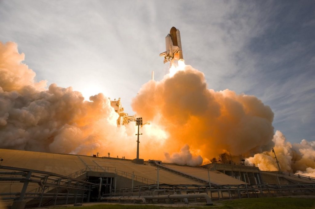 Fiber lasers help to get these into space!