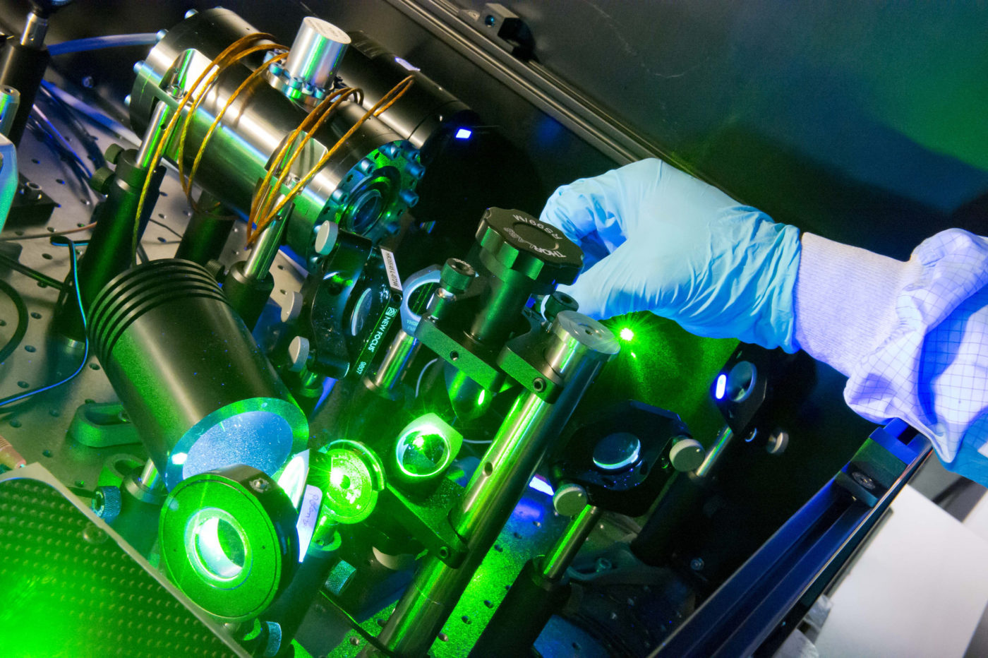 Fiber Laser Setup Spi Lasers