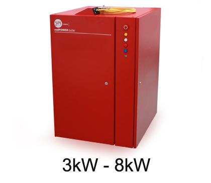 8kW CW Fiber Laser