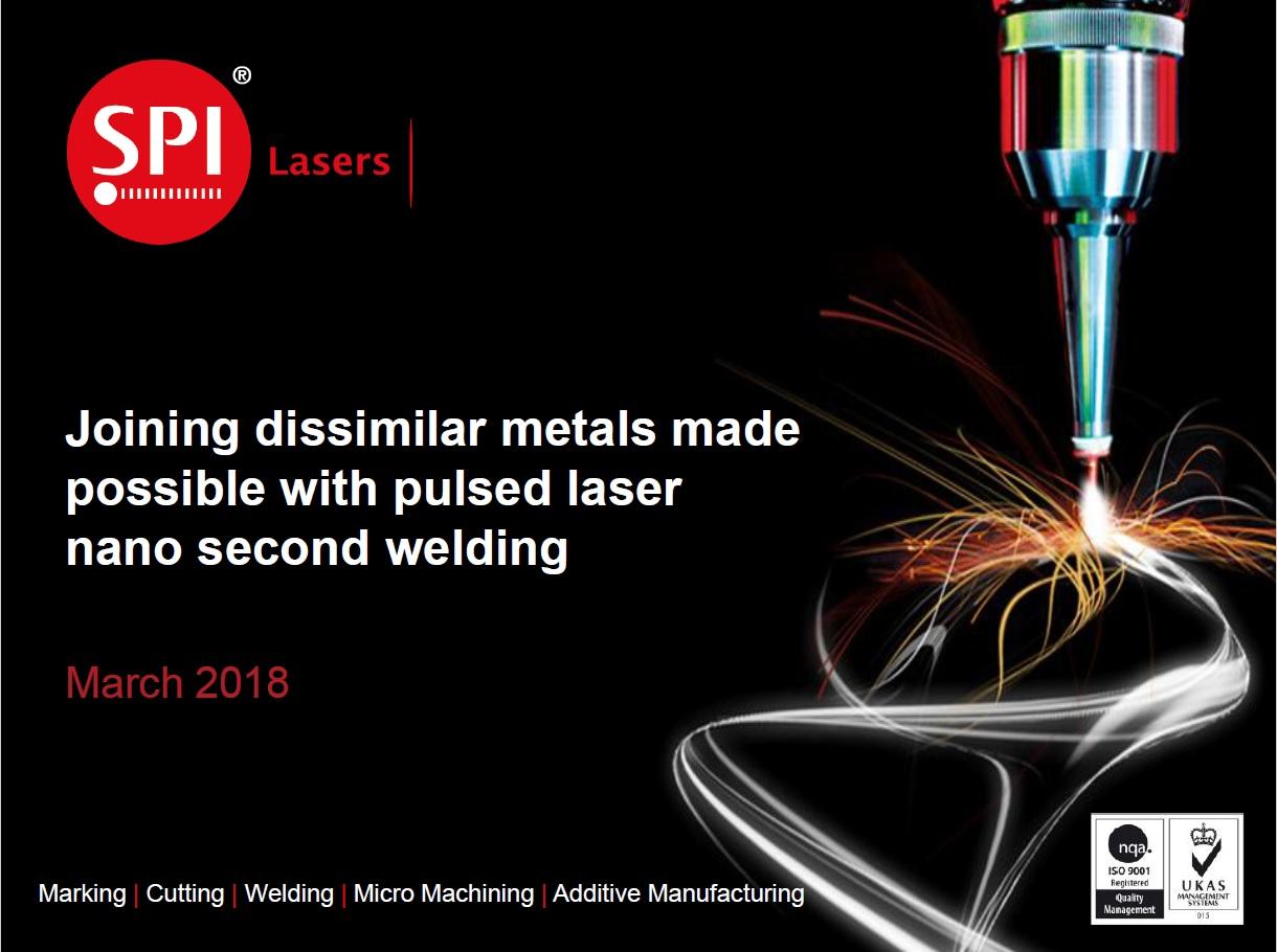 Joining Dissimilar Metals