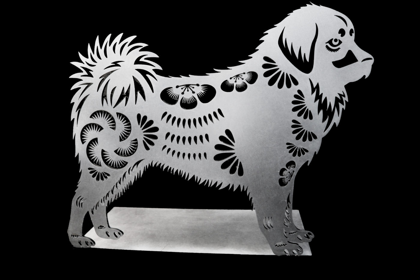 Year of the Dog Laser Cutting Sample