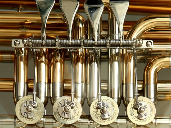 Brass is one material that the process is used with